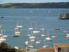 View from Seaview Inn, Falmouth - 27/05/2014