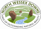 north wessex downs aonb logo