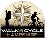 walk cycle hampshire logo